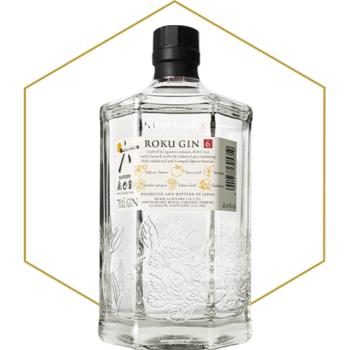 Roku Gin - Back